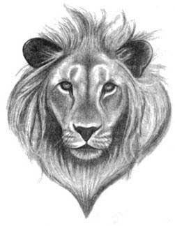Татуировки льва царя зверей