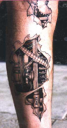 Биомеханика татуировки
