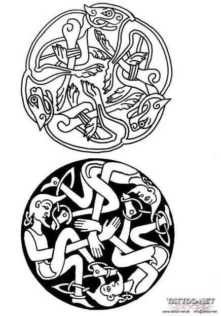 Татуировки кельтские смотрите тату