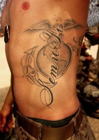 Татуировки армейские